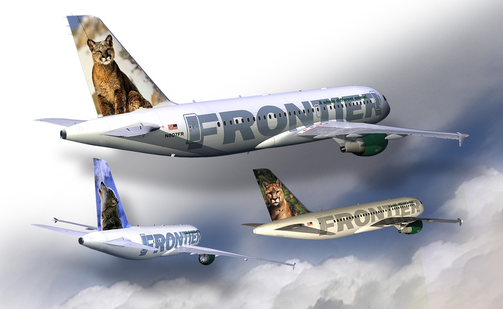 Frontier Airlines A Bang For Your Buck on Airplane Word Search